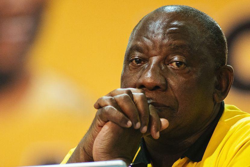ANC, Cyril Ramaphosa