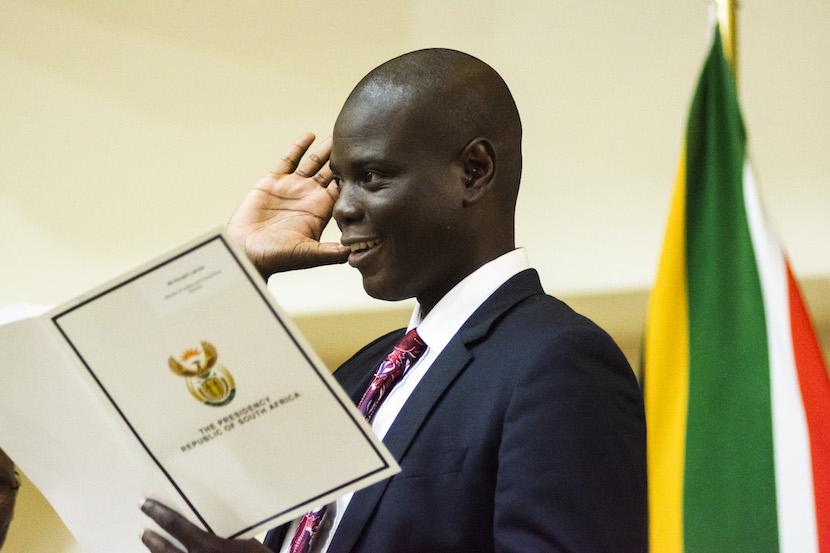 SA Justice Minister