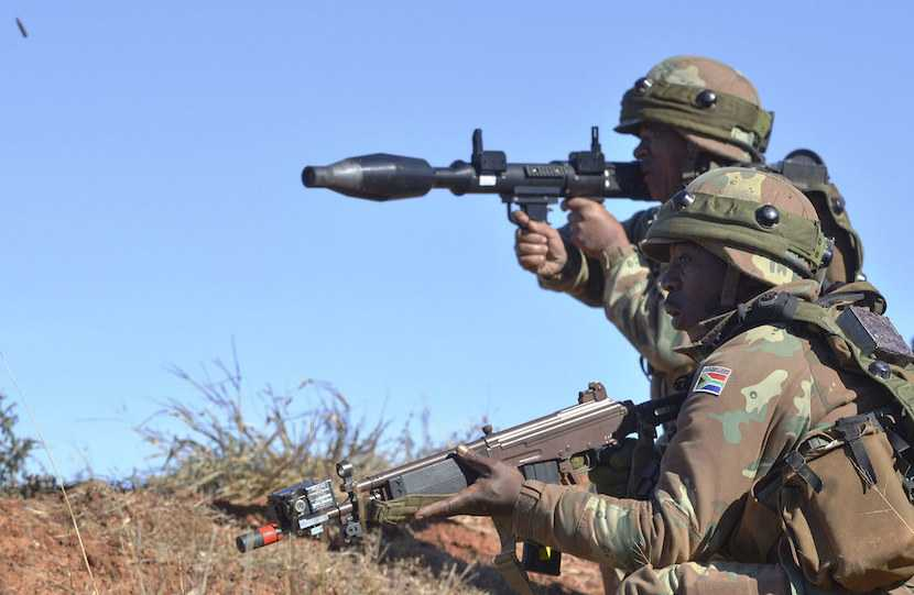 SANDF, army, armed forces