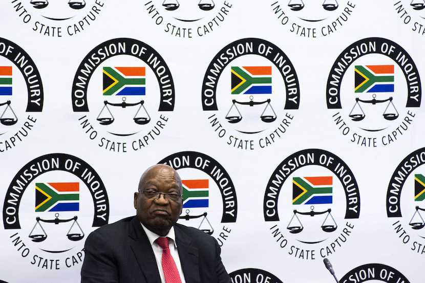 Jacob Zuma, Zondo Commission of Inquiry into State Capture