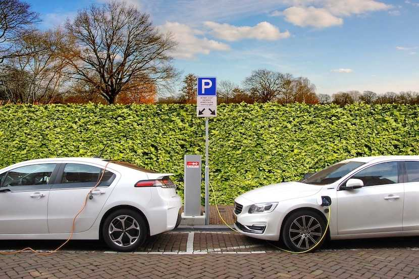 Electric cars, charging