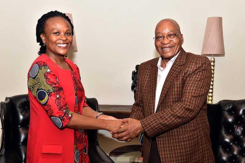 Public Protector, Busisiwe Mkhwebane, Jacob Zuma