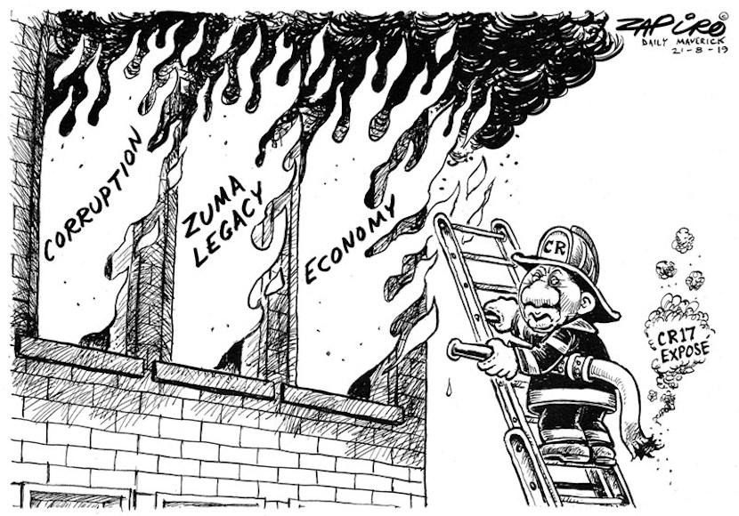 Zapiro, Cyril Ramaphosa