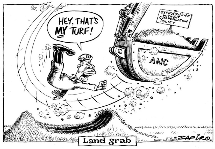 Land expropriation, Zapiro