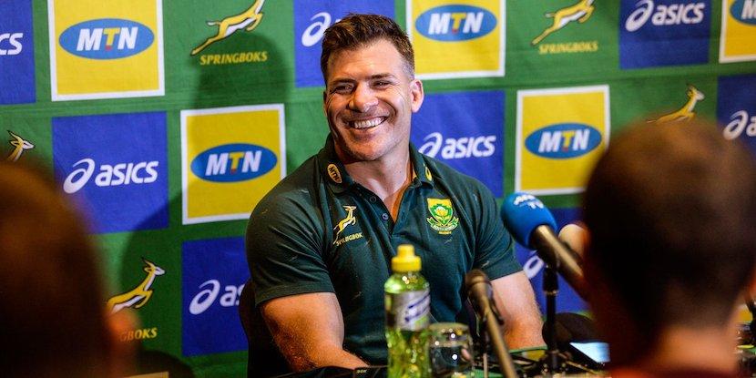 Schalk Brits, SA Rugby, Springboks
