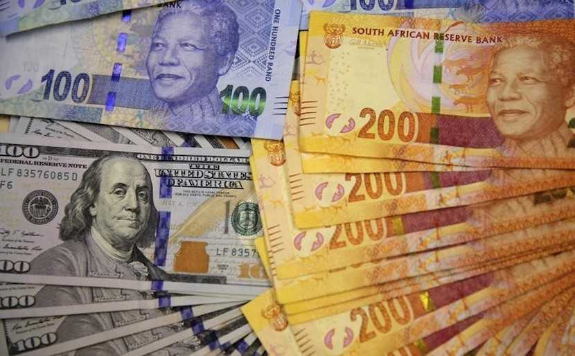 Rand, US dollar