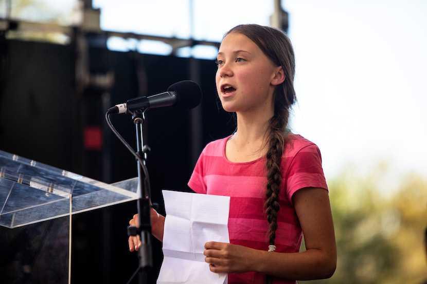 Greta Thunberg, climate change, global warming