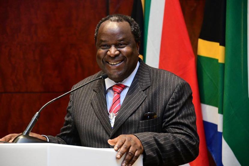Tito Mboweni, WEF Africa