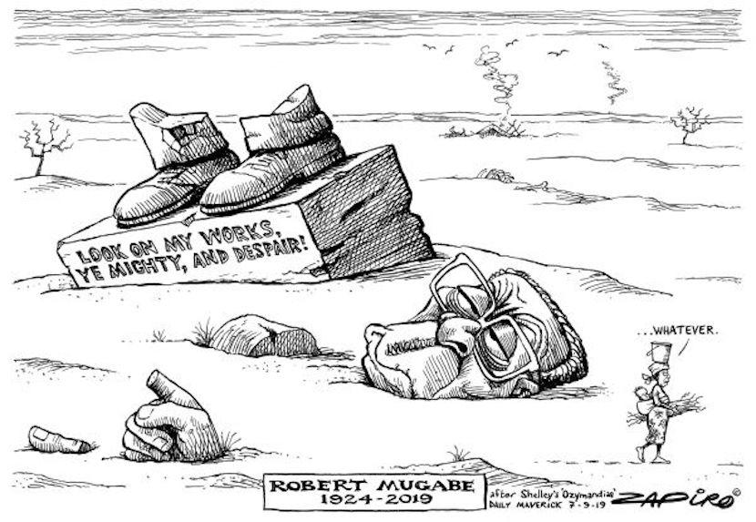 Robert Mugabe, Zapiro
