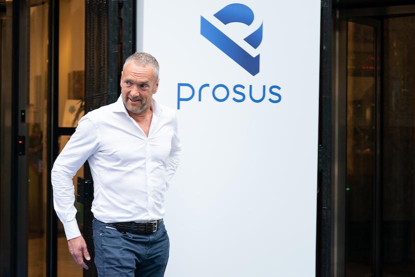 Bob Van Dijk, Prosus NV, Euronext