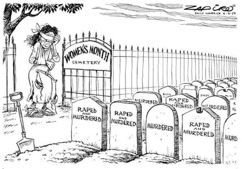Zapiro, gender violence