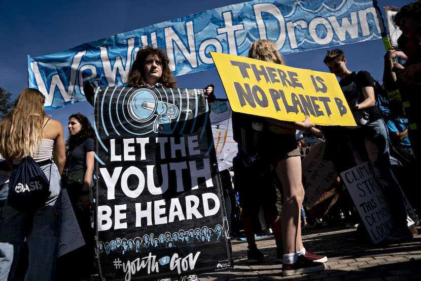 Global Climate Strike, Greta Thunberg