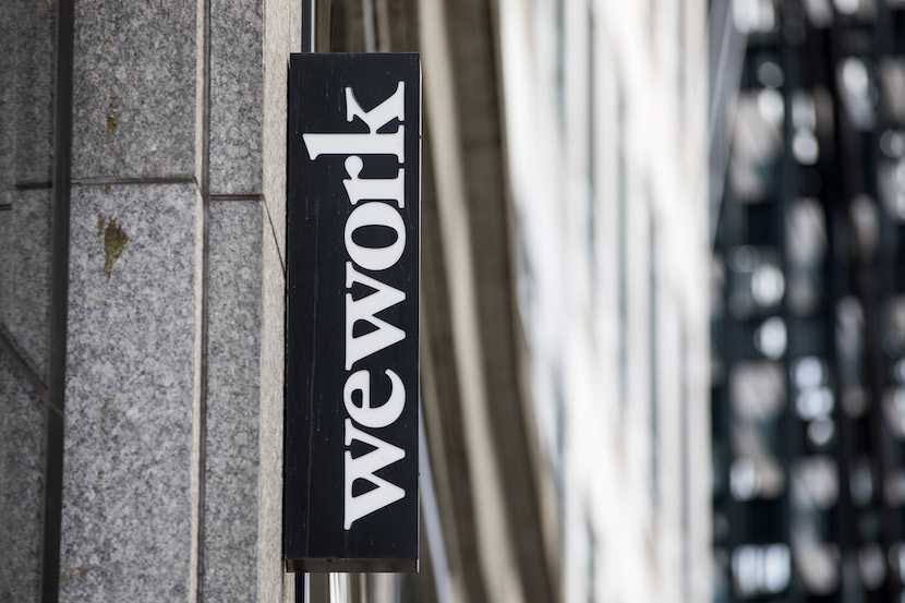 WeWork, shared office space
