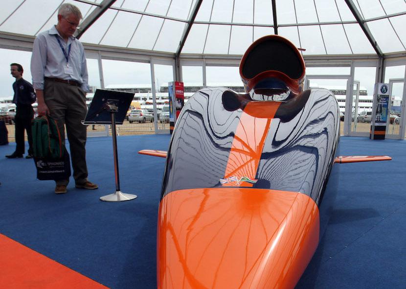 Bloodhound SSC, rocket-powered car