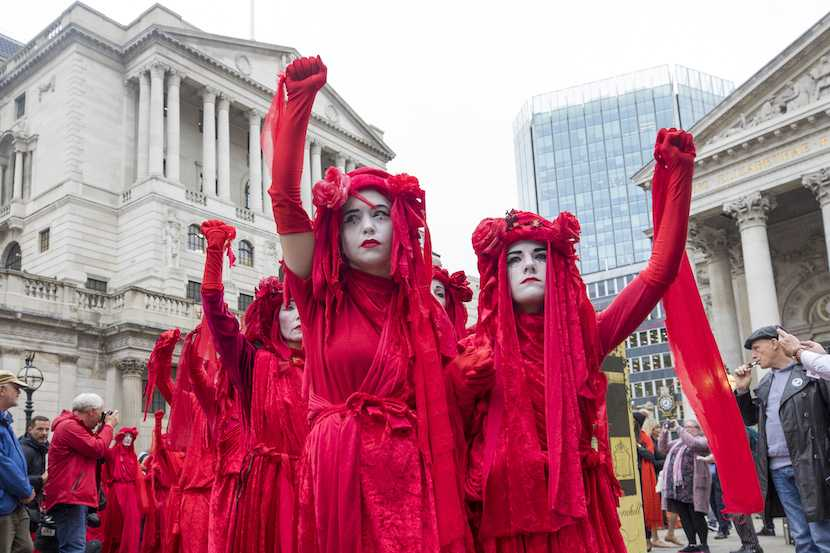 Extinction Rebellion, climate change