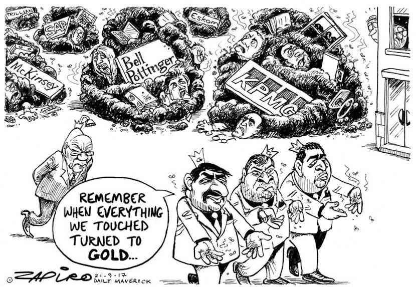 Guptas, Zapiro
