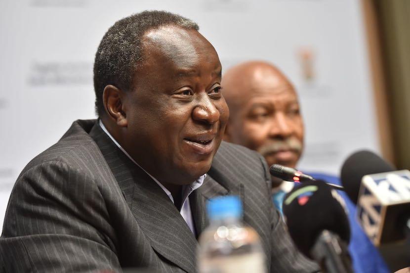Tito Mboweni, Treasury, 2019 MTPBS