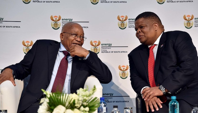 Jacob Zuma, David Mahlobo