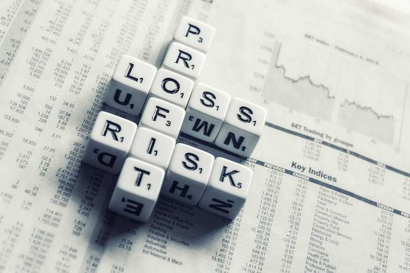 investment risk, loss, financial decisions