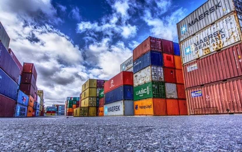 trade, containers