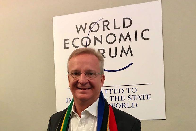 Nedbank, Mike Brown, WEF, Davos 2020