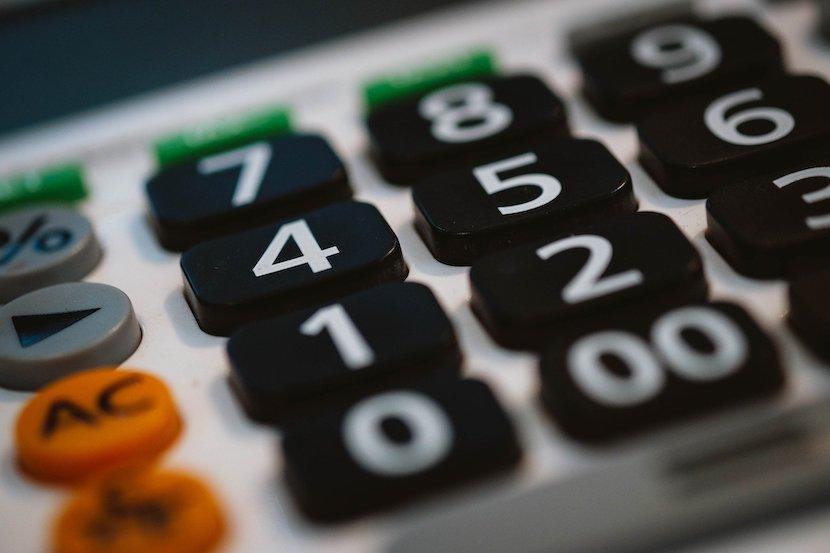 Budget, calculator