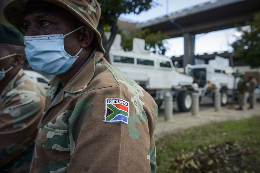 SANDF, Covid-19, SA lockdown