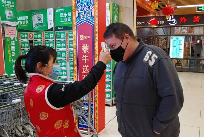 Gary Cronje, Covid-19, coronavirus, China