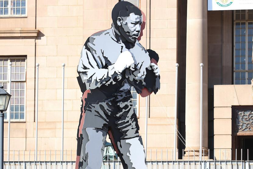 Shadow Boxing, Nelson Mandela