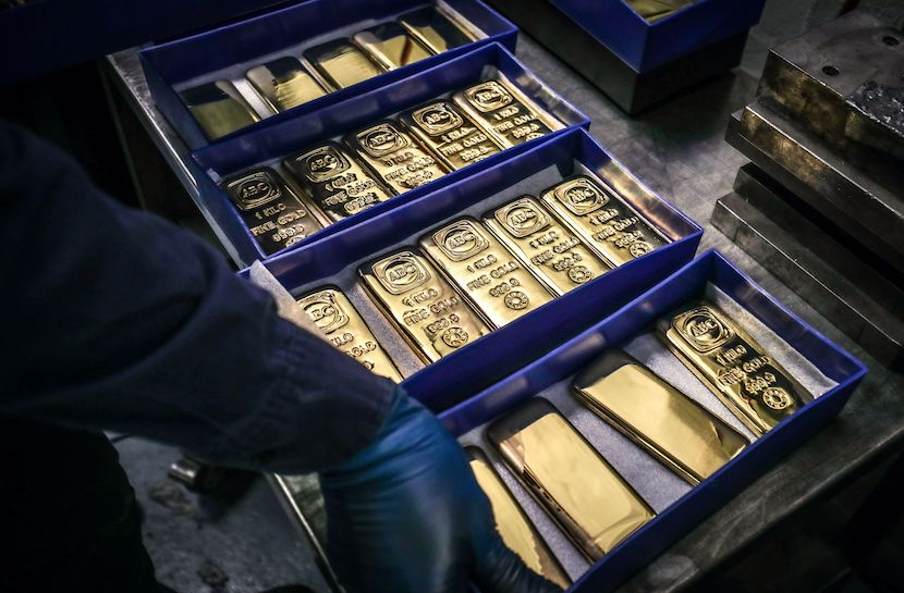 gold expossure