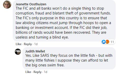 Zuma Facebook comment