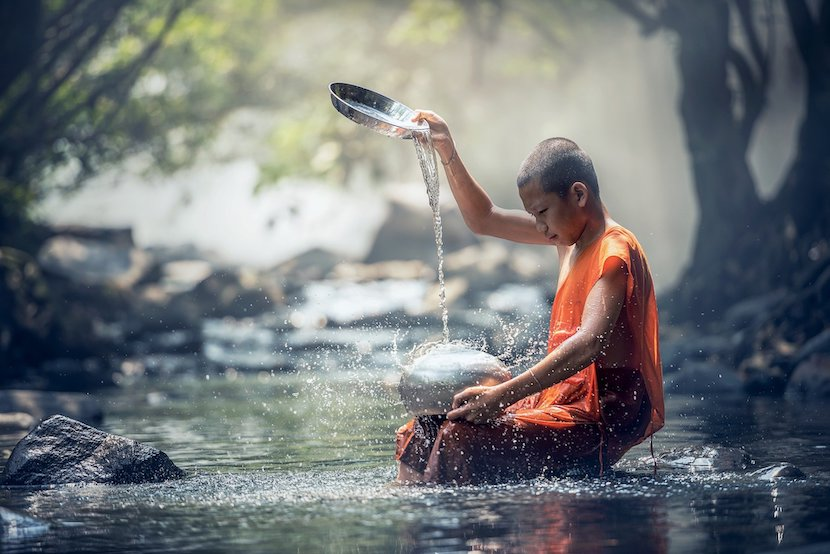 Buddhism; dying