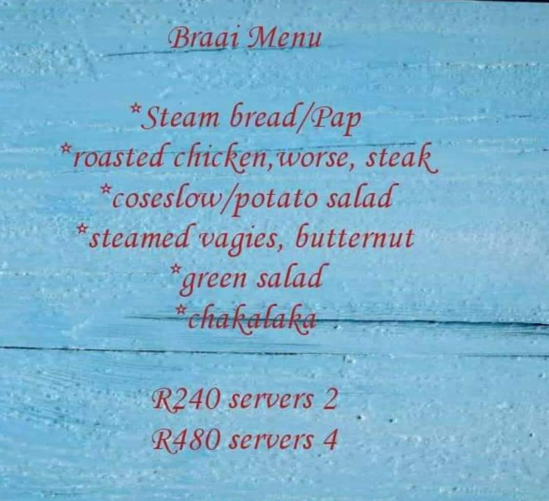 Wry Eye Mess of a menu