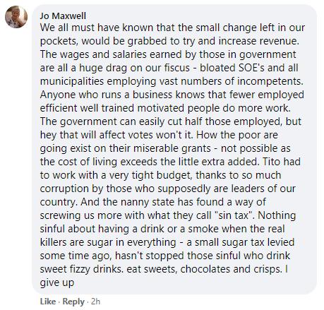 Facebook comment 2