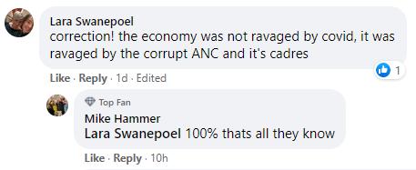 Budget Facebook comment 9