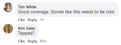 spying Wierzycka Facebook comment