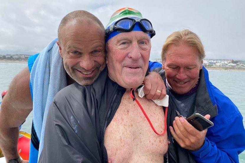 Robben Island swim