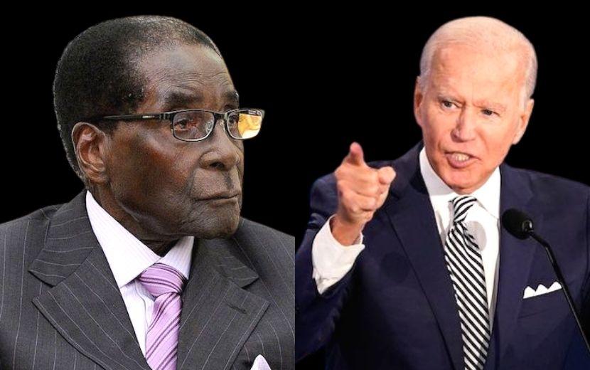 Biden Mugabe